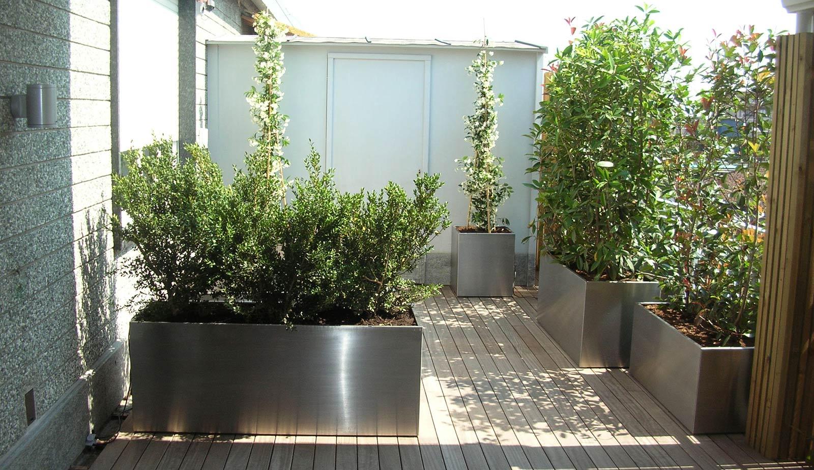 Fioriere in metallo prezzi pannelli termoisolanti for Vasi da giardino ikea